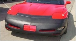 97-04 Headlamp Cover Paint Protection